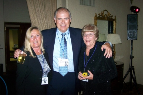 Pam McLeran and Jim Donaldson from the Class of '67 and Nancy Marker the Class of '66, attending the Class of '67 For