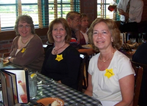 Mary Nancy Smith, Karin Hendrickson, Joyce Rossell