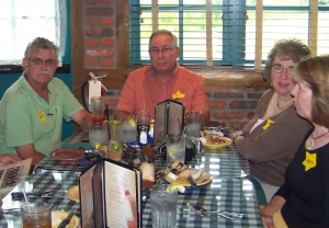 Don Moshos, Gerald Arnett, Mary Nancy Smith, Karin Hendrickson