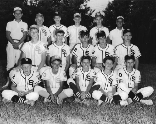 Little League photo submitted by Don Moshos class of '66