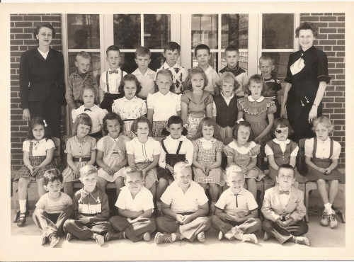 Cornell Heights Kindergarten, 1953-54