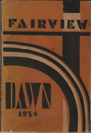 Fairview Dawn booklet from 1934