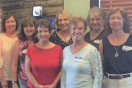 Karen Dicken, Leslie Bacon, Susie Harris, Ginny Dilts, Mary Smith, Joyce Rossell