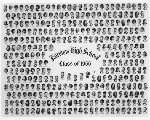 OUR FAIRVIEW CLASS OF 1966 PHOTO