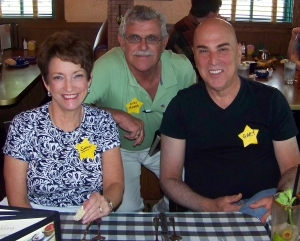 Susie Harris, Don Moshos, Gary Goldflies