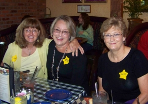 Leslie Bacon, Jeri Jones and Janice Baron