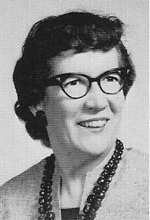 Miss Julia Sharkey, photo from Fairview 1966 Class Yearbook