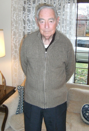 Mr. Norman Feuer pictured at his home in Columbus, Ohio on December 9, 2009