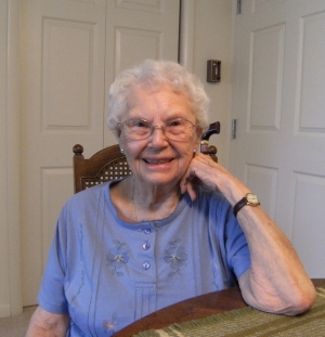 Mrs. Melva Gorham, April 2010