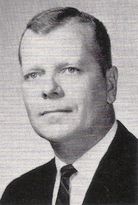 Mr. James Binkley, photo from a 1965 class yearbook