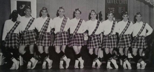 For the 1963 Fairview Follies, our athletes entertained us as Scotchettes!