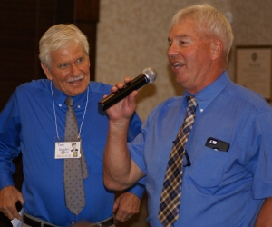Our creative story tellers, Tom Kender and PJ Shank, make everyone smile!