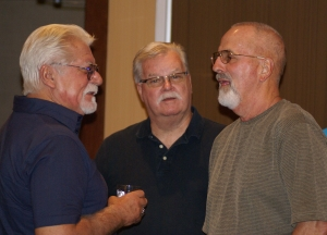 Mike Baer, Dan Hecker and Larry Grossnickle