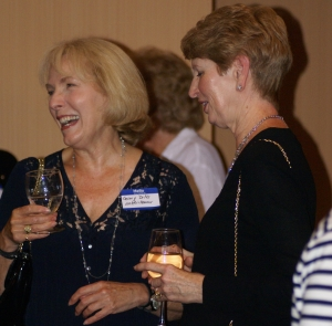 Ginny Dilts and Darlene Engle