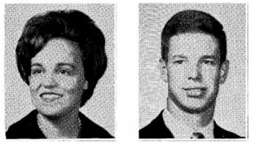 Arlene Calico and Dave Gates from the 1966 FHS yearbook